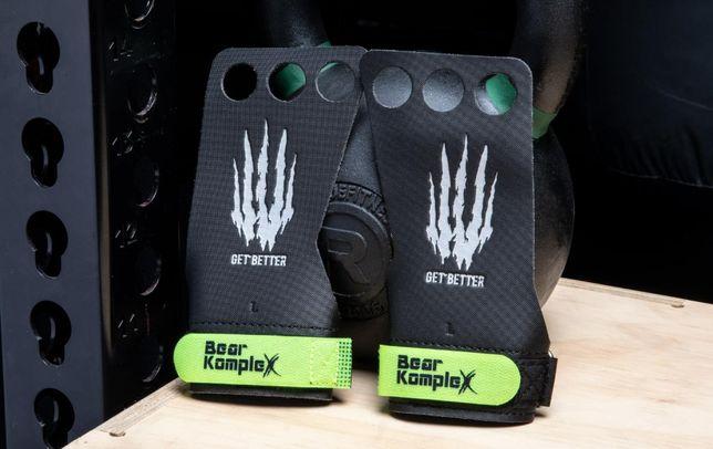 Накладки для Crossfit - Bear Complex 3 HOLE HAND DIAMOND