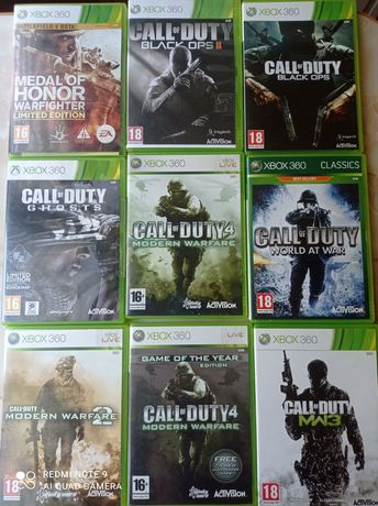 Xbox 360 gry po 25 złotych za sztukę