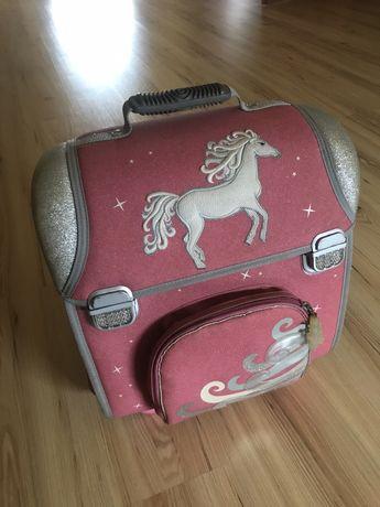Plecak tornister z koniem