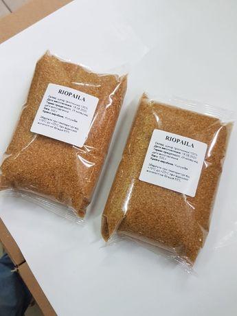 Демерара. Тростниковый сахар. Тростинний цукор. Коричневий цукор