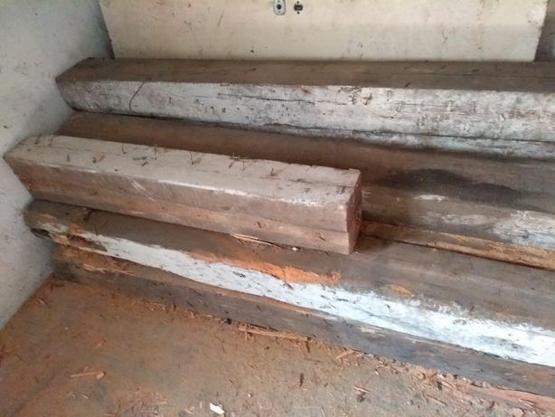 Belki drewniane sezonowane 40 lat w piwnicy. Obniżona cena.