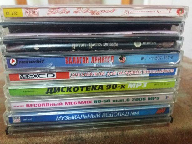 Коллекция музыкальных компакт-дисков