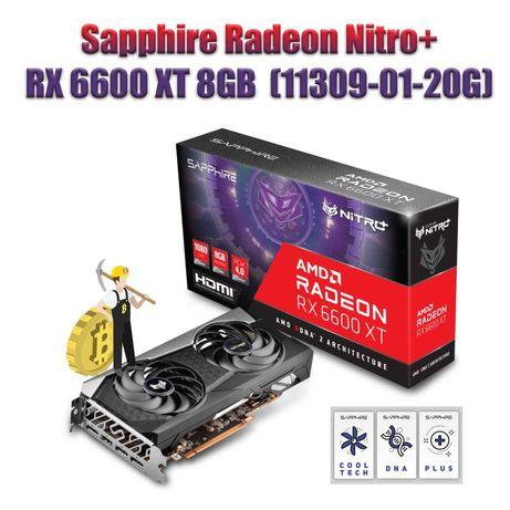 Видеокарта Sapphire Radeon Nitro+  RX 6600 XT 8GB GDDR6 (11309-01-20G)