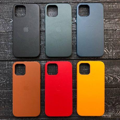 Leather Case IPhone Кожаный чехол Айфон 7 s 8 Plus X XR Xs Max 11 Pro