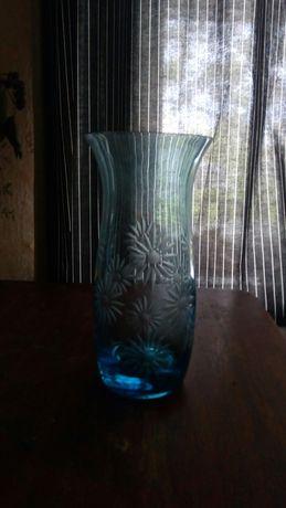 стеклянная ваза Ссср и кувшинчик.