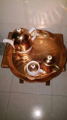 Vendo conjunto em cobre