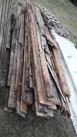 Drewno opałowe deski calowki suche