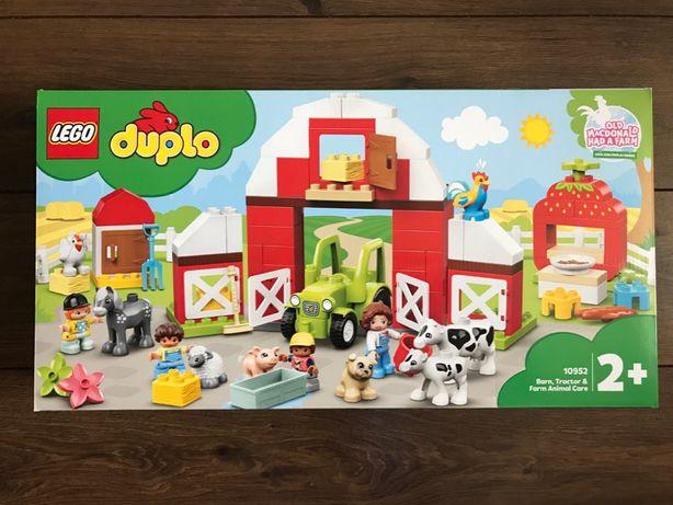 LEGO Duplo 10952 Stodoła, traktor i zwierzęta gospodarskie - NOWE