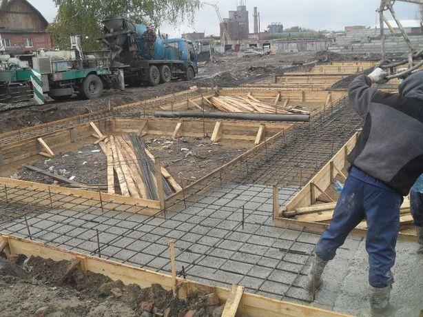 Прочие услуги на фундаментные и бетонные работы