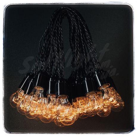 Ретро гирлянда с лампочками 20м