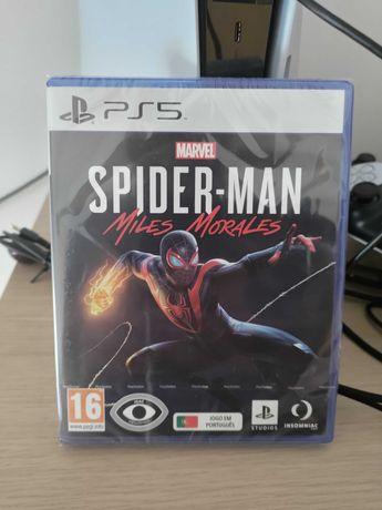 Jogo PS5 Spider-man Miles Morales (NOVO SELADO)