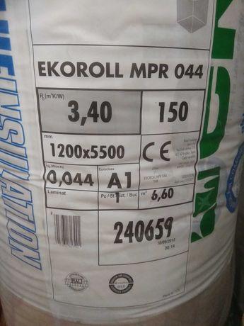Wełna mineralna Knauf Insulation Ekoroll 044 150 mm (10 paczek)