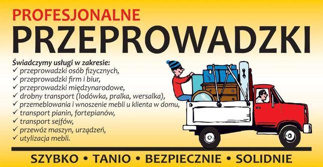 Przeprowadzki, transport- utylizacja mebli PP Przeprowadzki