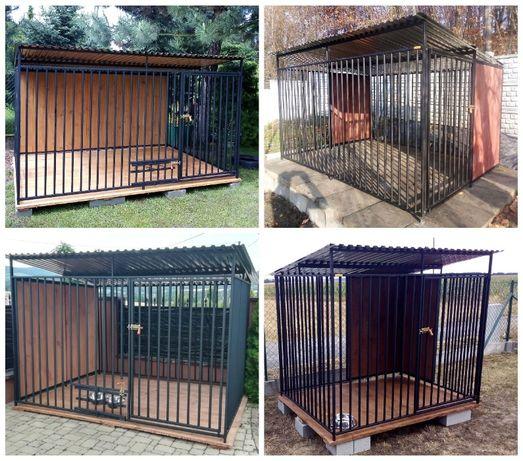 Kojec, kojce dla psów- wykonane ze stali oraz drewna. Różne wymiary.
