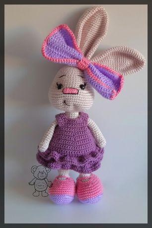 królik króliczek zabawka pluszak maskotka wielkanoc
