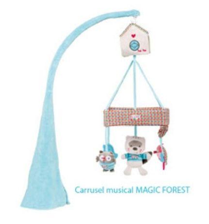 Mobile rotativo Musical da Tuc Tuc coleção Magic forest