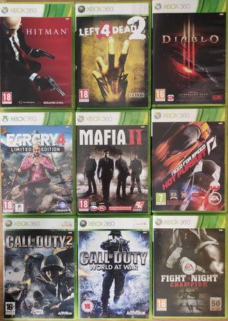 Gry Xbox 360 Mafia Fight Night Call of duty Diablo Hitman Farcry NFS