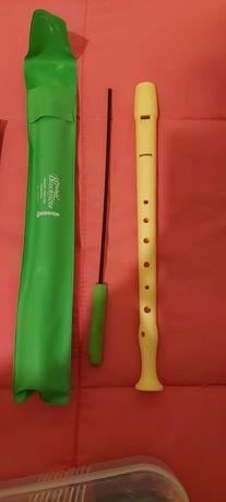 Flauta escolar - com capa e com limpador