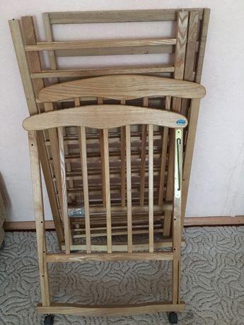Детская деревяная кроватка