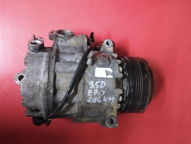 BMW X5 E70 X6 E71 3.0D 3.5D Sprężarka pompa kompresor klimy