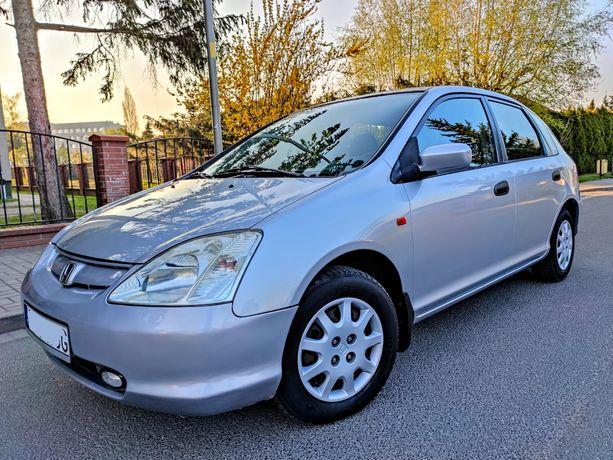 Honda Civic VII 1.4 90KM Bez Rdzy, Klima, 5-drzwi