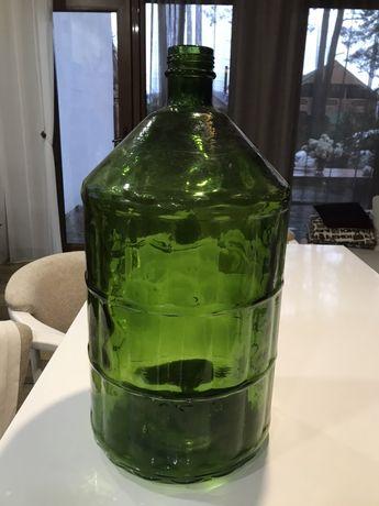 Бутыль для воды или вина 22л стеклянный