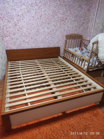 Кровать двухспальная 160*200 +бесплатно доставка по городу