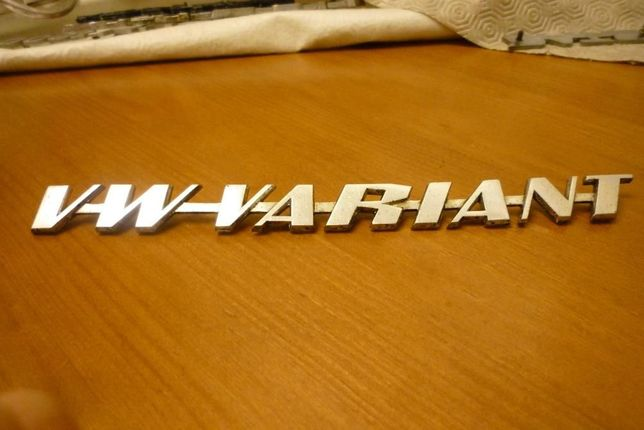 Emblema Antigo Volkswagen VW Variant
