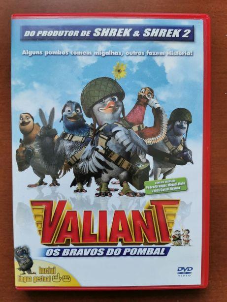 DVD Animação   Valiant - Os Bravos do Pombal