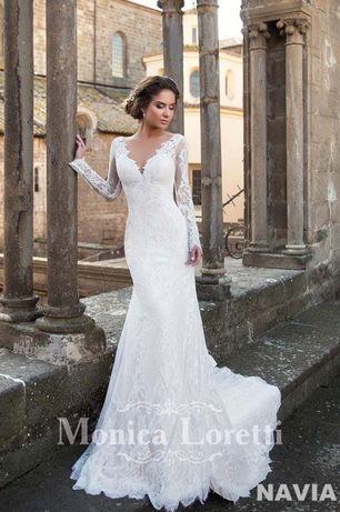 Розкішне весільне плаття фірми Monica Loretti, свадебное платье