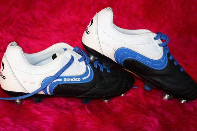 Sondico - korki, skórzane buty piłkarskie roz. 38