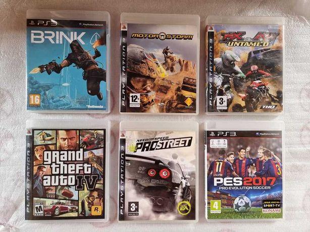 Lote jogos playstation ps3