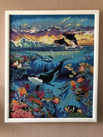 Вышивка крестиком «Подводный мир»