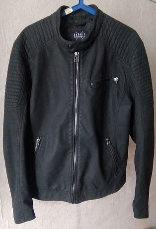 Куртка кожаная  шкіряна куртка Esprit.
