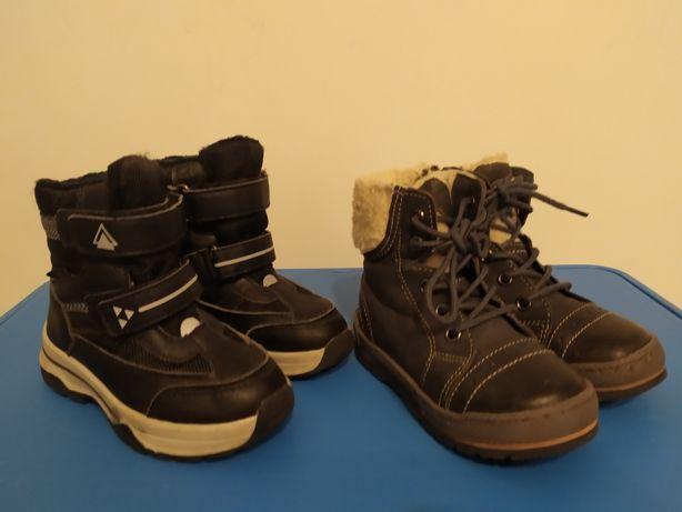 Zestaw butów na zimę, trzewiki śniegowce zimowe Lasocki lupilu