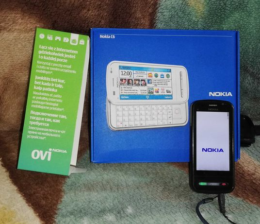 Klasyczny telefon Nokia C6
