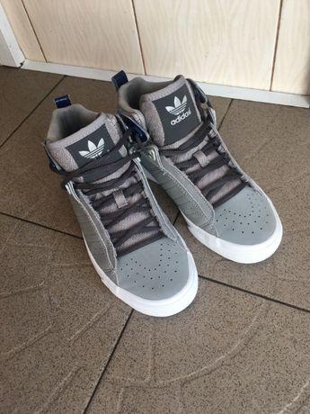Високі кросівки adidas vintage trefoil retro mid-cen