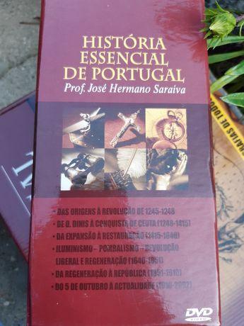 História Essencial Portugal DVD