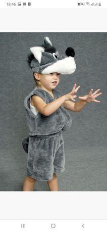 Костюм волка на 3-5 лет