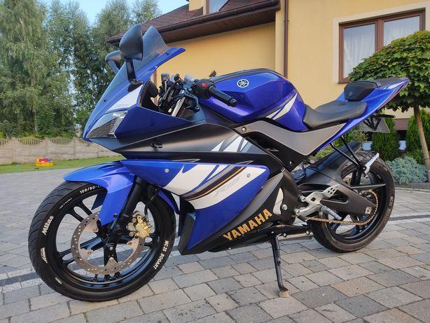 Yamaha YZF-R125 ' 2008 rok! Rej.PL! Wydech LeoVince SBK! Szyba! Kat.B!