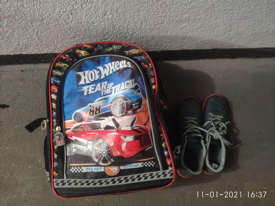 Plecak i buty róż 35 Września - image 1