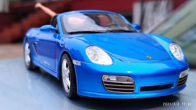 Porsche Boxster S welly 1 18