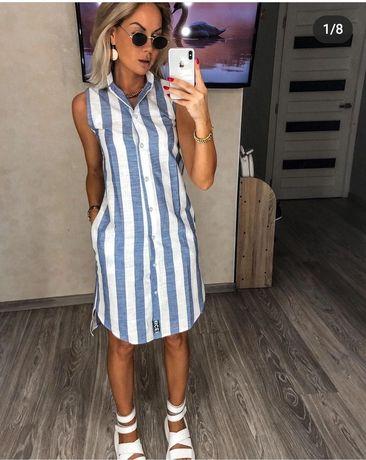 Продам новое платье легкий лен