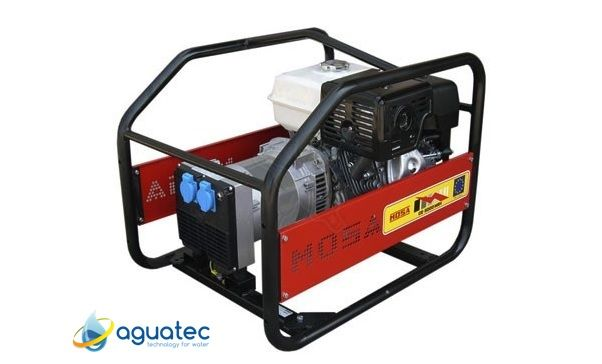 Gerador Gasolina Motor Honda 4 kVA MOSA GE-5000 MBH
