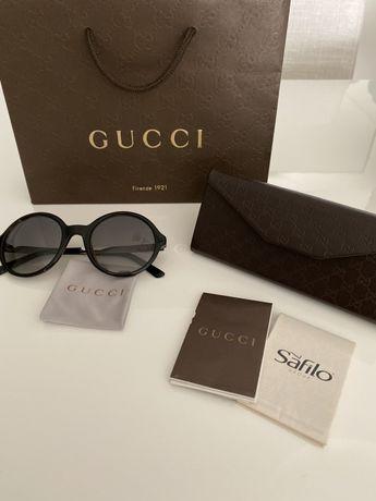 Óculos de sol redondos Gucci / Com factura da optica/ Portes incluídos