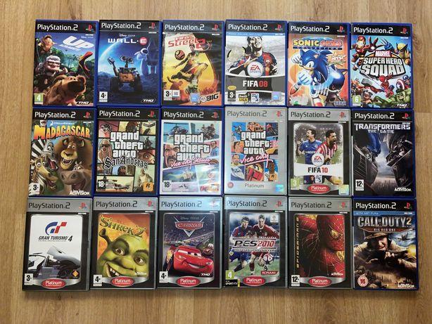 Coleção de 18 Jogos PlayStation 2