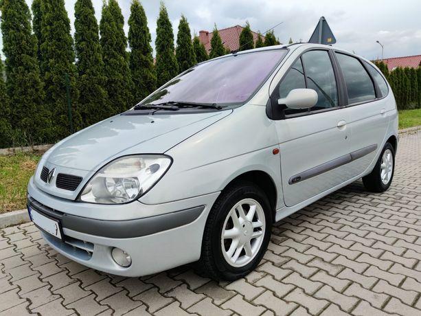 Renault Scenic 1.6 107KM, AUTOMAT, Lift 2002r, Klima, Hak, Półskóry