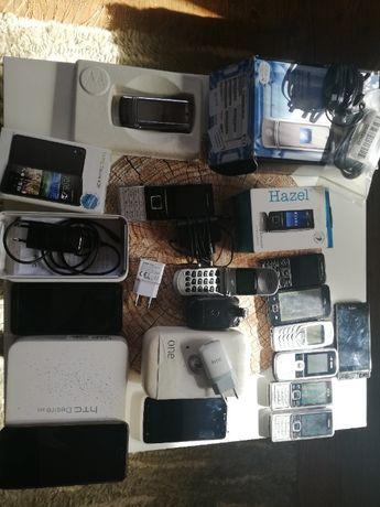 Telefony sprawne i na części