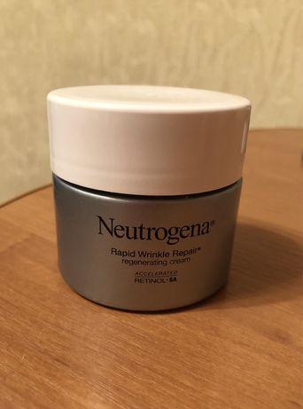 Крем для лица с ретинолом от морщин Neutrogena