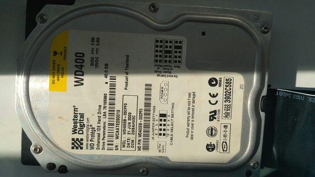 HDD WD400 жёсткий диск 40 gb
